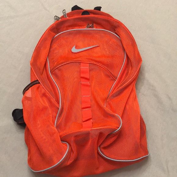 9b2ec80019d9 Brasilia Mesh Bright Orange Accessories backpack. M 5b68f0b7d365beee271eb224